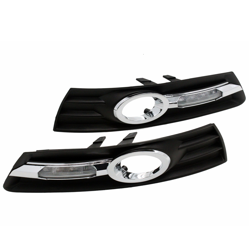 2Pcs/Pair SUNKIA for VW Passat CC 2009 2010 2011 2012 2013 DRL LED Daytime Running Light Car Styling with Dimming Function цены