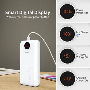 Image 3 - 30000mAh 26800mAh ROMOSS SW30 Pro Portable Power Bank Charger External Battery PD Fast Charging LED Display For Phones Tablet