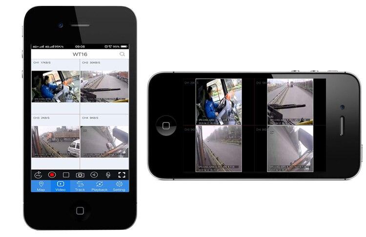 GPS de Monitoramento de Ônibus Suite suporta