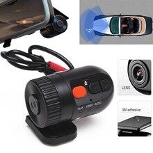 MINI Car Dash Cam DVR Grabador Videocámara Auto 720 P Resolución HD 360 Grados Lente Gran Angular Support128MB-32GB Tarjeta SD Noche visión