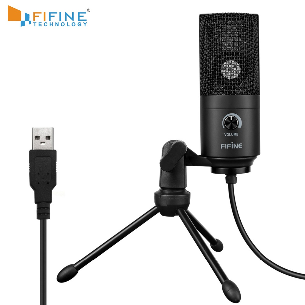 Recording Microphone USB Socket Suit For Computer Windows MacBook High Sensitivity For Instrument Game Video  Recording K669B