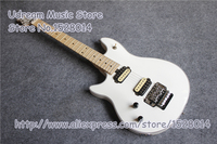 China Custom Shop Left Handed Glossy White Suneye Wolfgang EVH Electric Guitar & LP Guitar SG Guitar ES Guitar Available