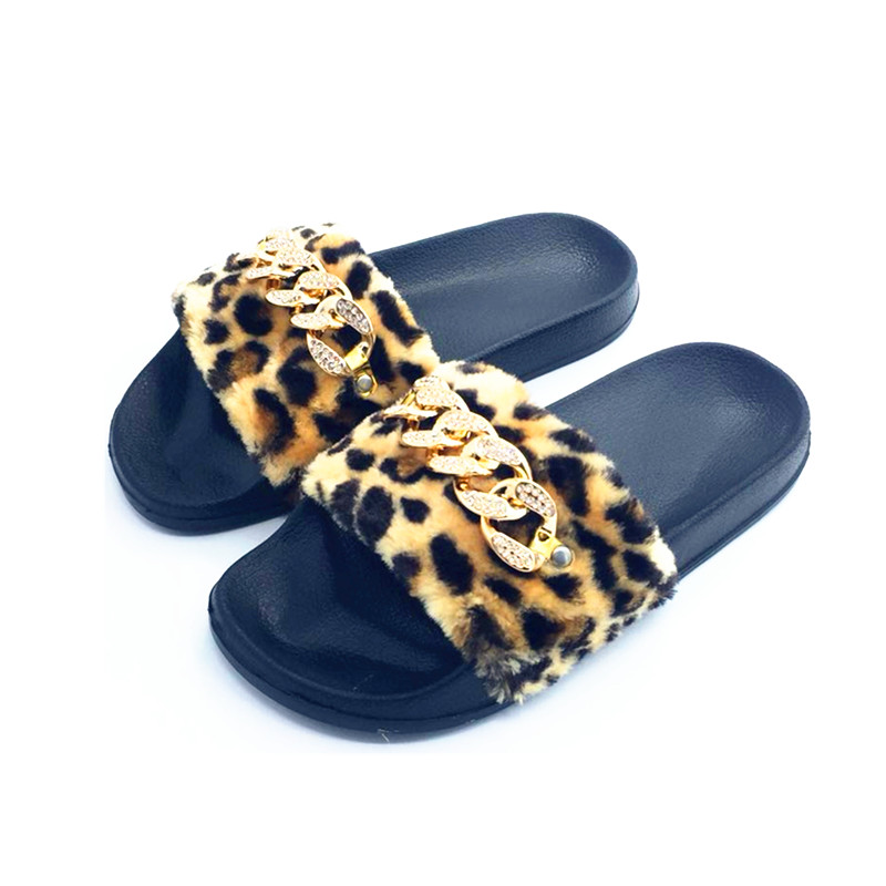 AoXunLong Zapatillas Mujer Furry Slide Zapatillas de casa Moda - Zapatos de mujer - foto 3