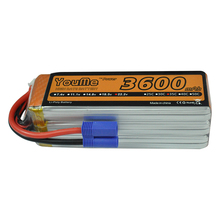 Youme 6S 3600mah 22 2V 35C Max 70C RC battery LiPo baterie for RC Helicopters Boats