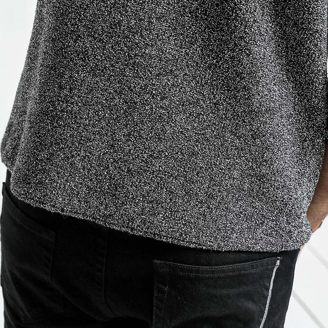 Wool knitted Sweater in noise color