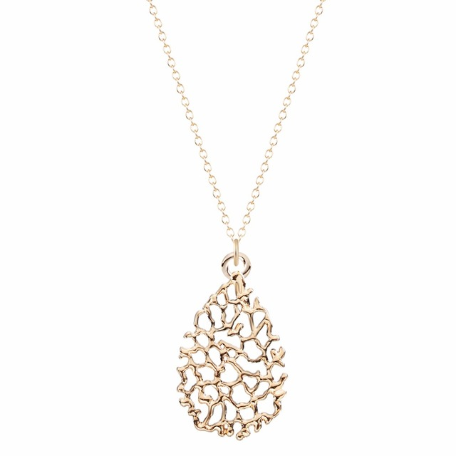 Qiamni new style teardrop filigree necklace pendant bridesmaid qiamni new style teardrop filigree necklace pendant bridesmaid jewelry necklaces for women and girls wedding necklaces mozeypictures Gallery