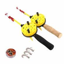 Outdoor Ice Fishing Rod Set Fishing Carp Ice Rod Combo For W