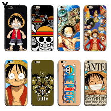 Yinuoda Anime One Piece Soft silicone coque Cover case For iPhone 6 6plus 7 7Plus 8 8plus X XS XR XSMax