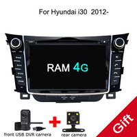 Android 8.0 PX5 Octa Core For HYUNDAI i30 2011 2016 Car DVD Multimedia player GPS Navigation Autoradio dvd player