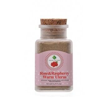 Prolong Lifu Rose&Raspberry Warm Uterus Female Herbal, Worm Warm Cure MC Pain and Regulate Ovulation, Cure Female Infertility