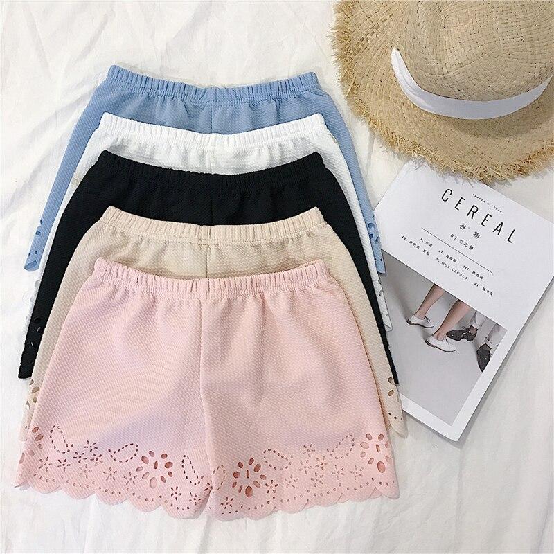 Весна Xia Дамы Корейский легкий тонкий кружево обороны гардероб неисправности брюки для девочек страхование штаны хит нижнее белье шорт