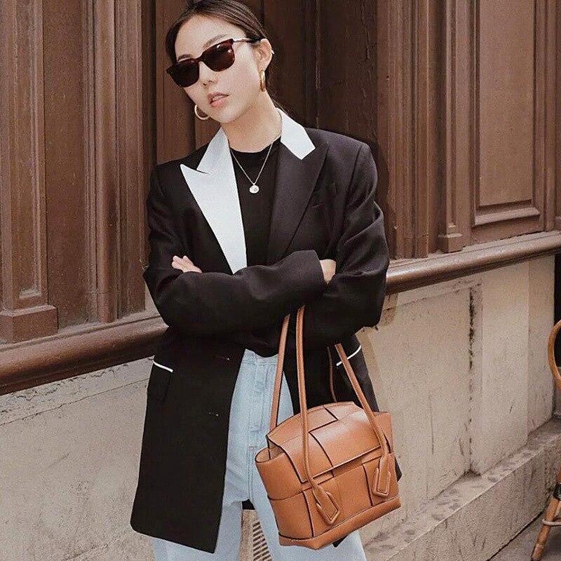 Neue Berühmte Designer Marke Luxus Frauen Leder Handtaschen Mode Messenger Schulter Tote Qualität Tasche Kupplungen Bolsa Feminina-in Schultertaschen aus Gepäck & Taschen bei  Gruppe 1