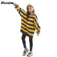 Winter Teenage Girls Clothing Set 8 9 10 11 12 Years Cool Long T Shirt+Velvet Pants Children Sport Suit For Girls Kids Tracksuit