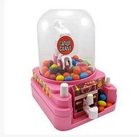 Lovely Candy Grabber Mini Candy Machine Kids Toys Candy Box Plastic Storage Box Food Container 14