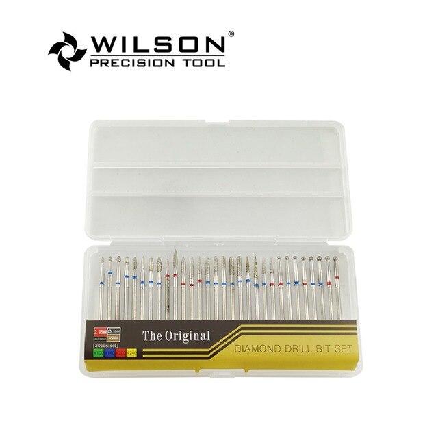 30pcs/set Diamond Nail Drill Bit Set Manicure Machine Accessoires Nail Files Nail Tools