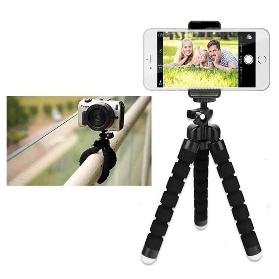 फोन के लिए तिपाई मिनी लचीला कैमरा धारक लचीला ऑक्टोपस तिपाई ब्रैकेट स्टैंड धारक माउंट मोनोपॉड स्टाइलिंग सहायक उपकरण