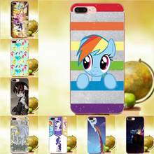 TPU แฟชั่นสำหรับ Samsung Galaxy หมายเหตุ 2 3 4 5 8 9 S3 S4 S5 S6 S7 S8 s9 mini Edge Plus My Little Pony(China)