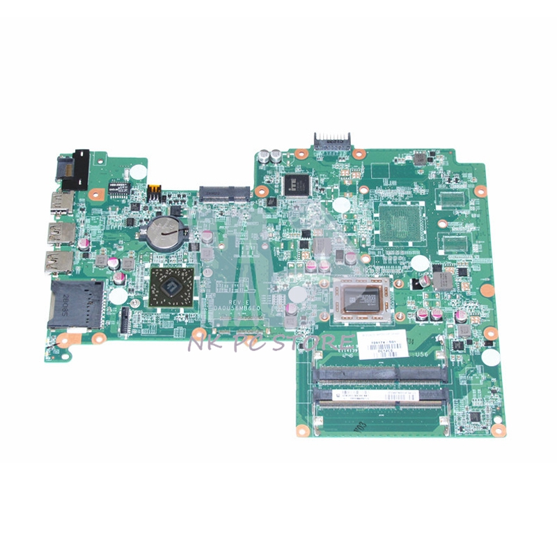 709174-501 709174-001 Main Board For HP Pavilion 15-B Laptop Motherboard DA0U56MB6E0 A6-4455M CPU DDR3 722204 501 722204 001 for hp pavilion 15 e 14 e motherboard a6 5200m tested working