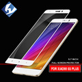 Tempered Glass For Xiaomi Mi 5s Plus 5.7inch Full Cover Screen Protector  9H Print Edge Premium Protective Glass Mi 5Splus