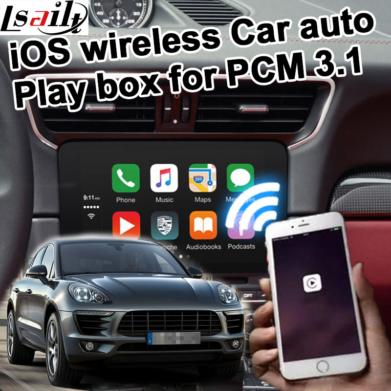US $380 0 |Wireless Car auto play box for Porsche PCM 3 1 Cayenne Macan  Pana mera 911 etc for carplay on Porsche-in Vehicle GPS from Automobiles &
