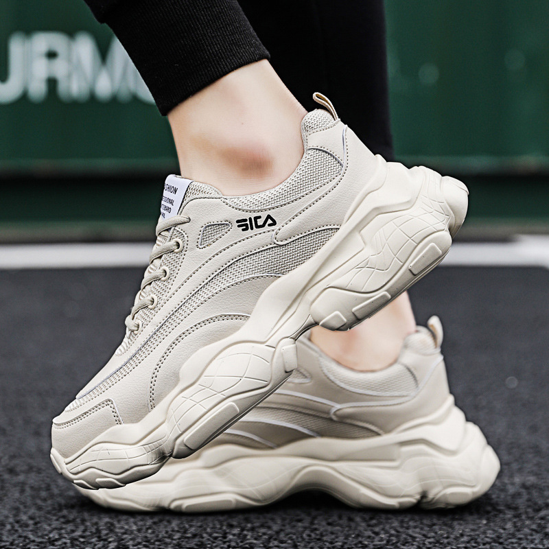 tenis mens 2019 casual sneakers shoes men calzado sapatos zapatos para air mocassim fashion white ayakkabi breathable triple s