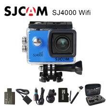 "Original SJCAM SJ4000 WiFi Cámara de La Acción 2.0 ""Pantalla LCD DV Deportes 1080 P HD Bajo El Agua 30 M Impermeabilizan la mini Videocámara SJ 4000 Cam"