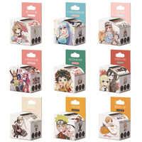 4 cm * 5 m Anime Q versión de dibujos animados cinta de Washi cinta adhesiva Scrapbooking DIY etiqueta engomada cinta adhesiva