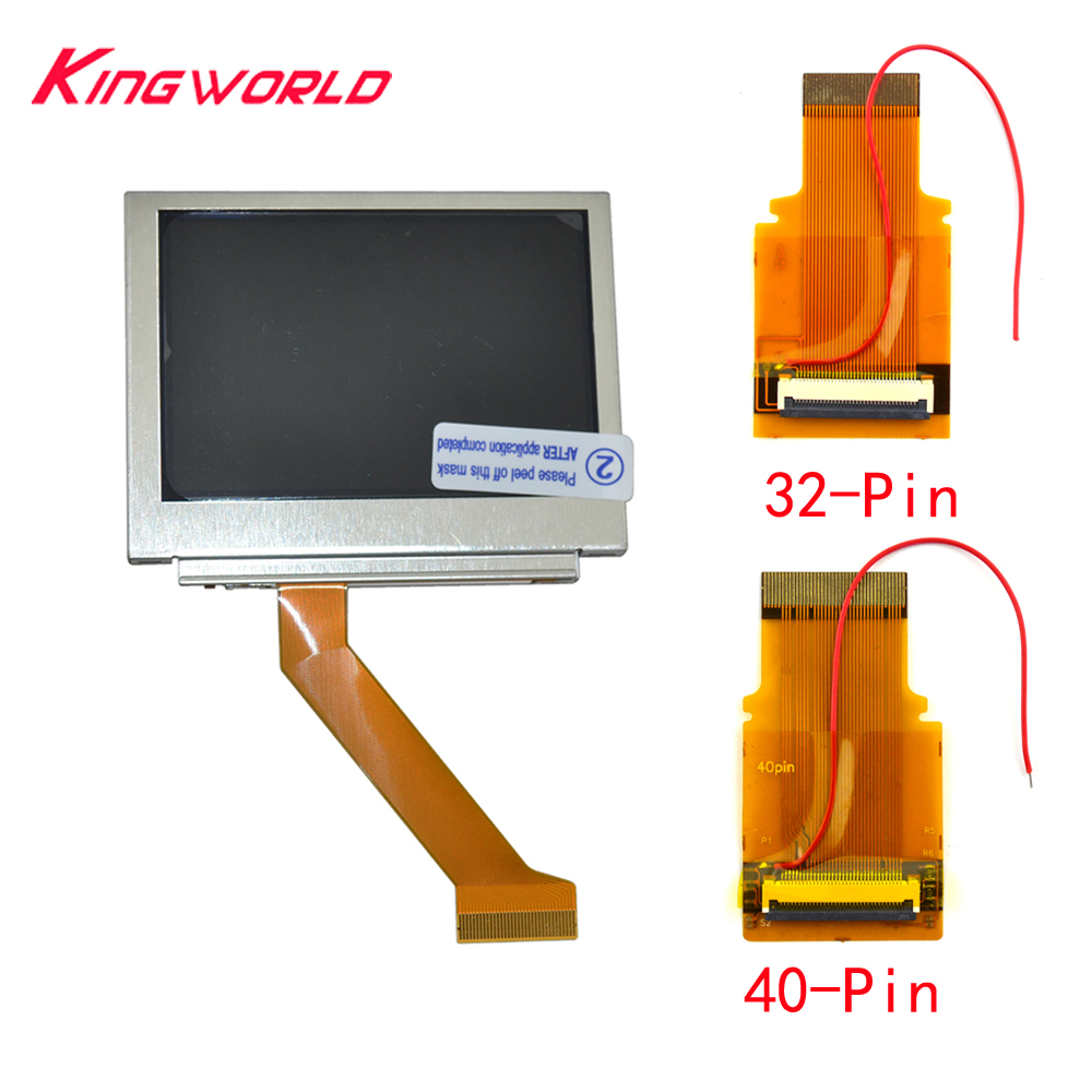 LCD Screen Brighter OEM Backlit Ultra Bright Parts Highlight <font><b>AGS</b></font>-<font><b>101</b></font> For G-ame Boy for <font><b>Advance</b></font> SP for G-BA SP image