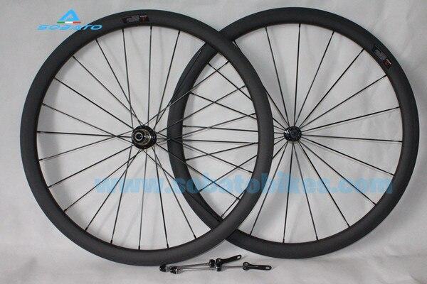50 мм велосипедные тормоза Clincher из трубчатого углерода колесная 700C Powerway R13 Втулка с керамическими подшипниками углеродный руль для велосипе
