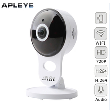 APLEYE Mini IP Camera 720P HD CCTV WIFI Camera Two Way Audio P2P Baby Monitor Network Security Surveillance Wireless Camera
