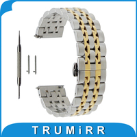 20mm 22mm Stainless Steel Watch Band For Rolex Butterfly Buckle Strap Quick Release Wrist Belt Bracelet