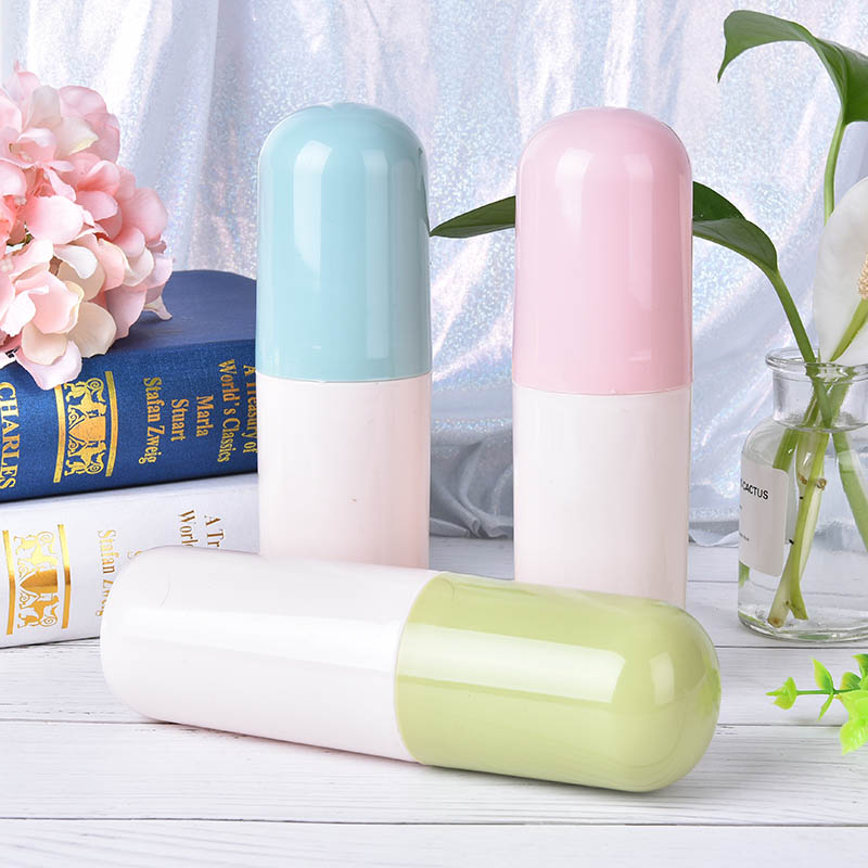 Portable Toothbrush Holder Box Protect Toothbrush Case Cover Travel Outdoor Toothbrush Case Bathroom Tumblers