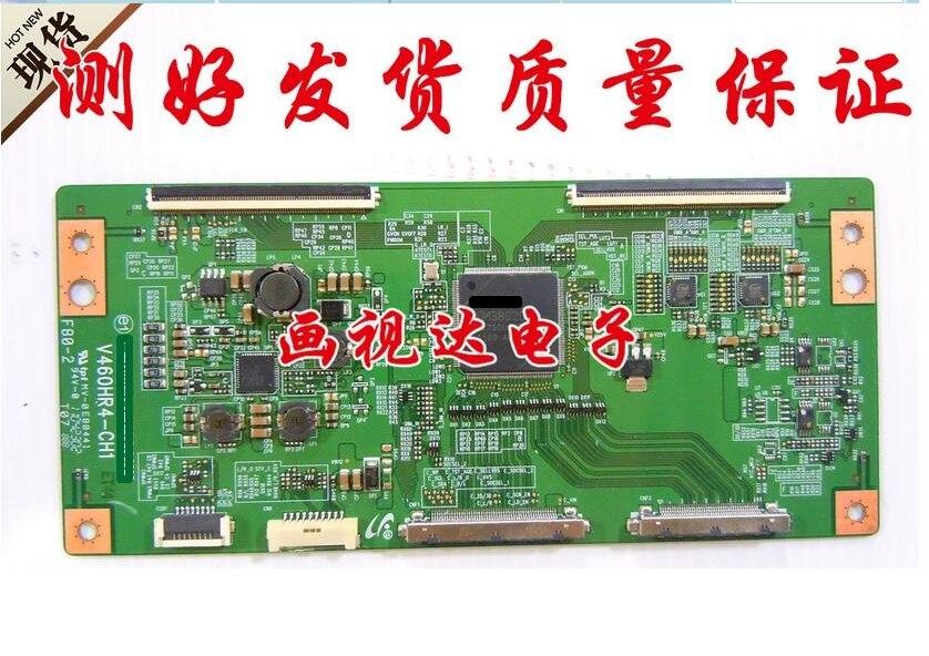 Original logic board 34.7m v460hr4-ch1 connect with T-CON connect board seiki se50uy04 v500dk1 cs1 mv 0sp4v 0 t con board