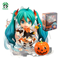 Hatsune Miku Halloween Version Nendoroid Action Figure Anime Collection Action Toys Figure Doll Model Toys for Girls Hobbies