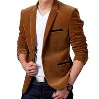 New Arrival Luxury Men Blazer New Spring Fashion Brand High Quality Cotton Slim Fit Men Suit