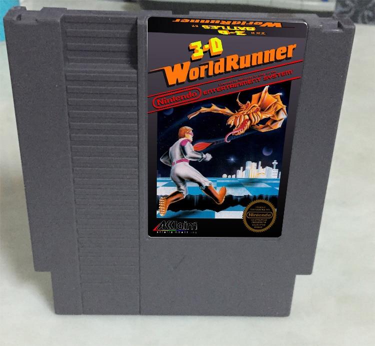 New arrival 72 pins 8 bit game cartridge free shipping — 3d world runner