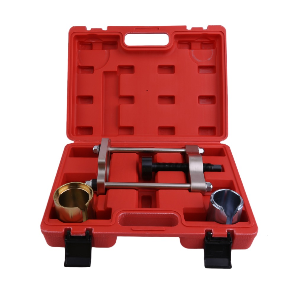 Professional Rear Suspension Rear Bush Bushing Tool Removal Installation Hand Tool Kit For Ford For Focus With Carry Case rear ball joint tool kit bushing tool set suitable for bmw e38 e39