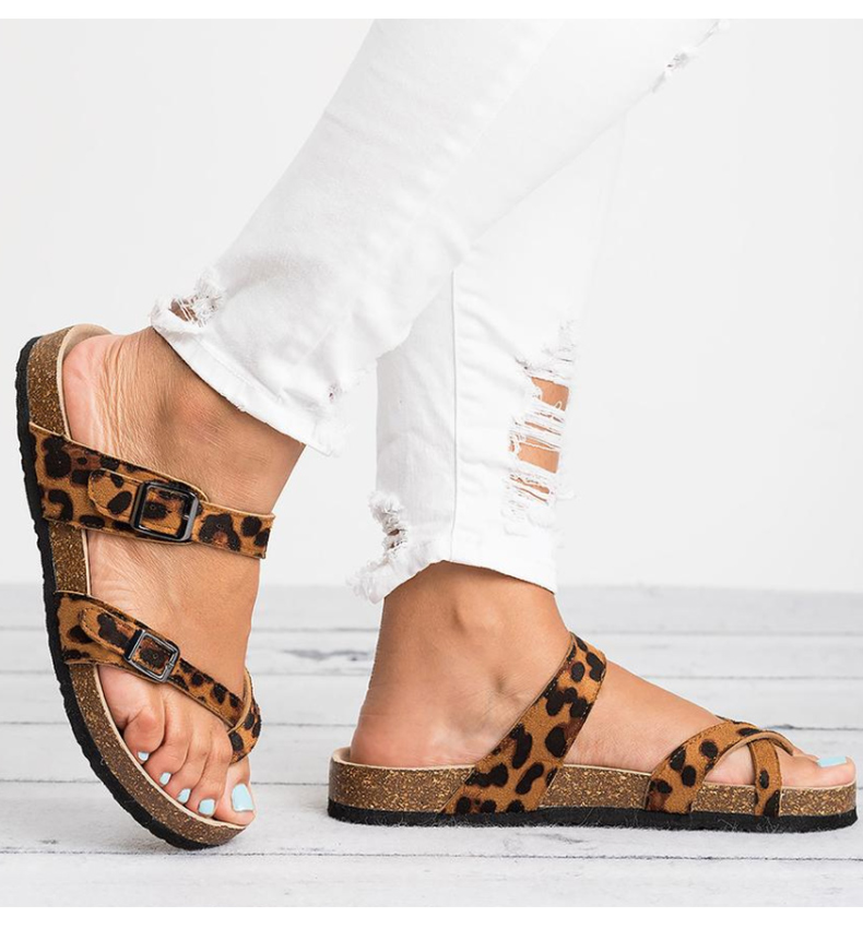 HTB1Jk24NHPpK1RjSZFFq6y5PpXaS Women Sandals Rome Style Summer Sandals For 2019 Flip Flops Plus Size 35-43 Flat Sandals Beach Summer Zapatos Mujer Casual Shoes