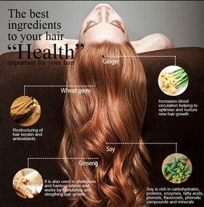Image 3 - PURC offre spéciale épaississement shampooing croissance des cheveux essence huile ensemble traitement de perte de cheveux soutient la croissance des cheveux en bonne santé ensemble de soins capillaires