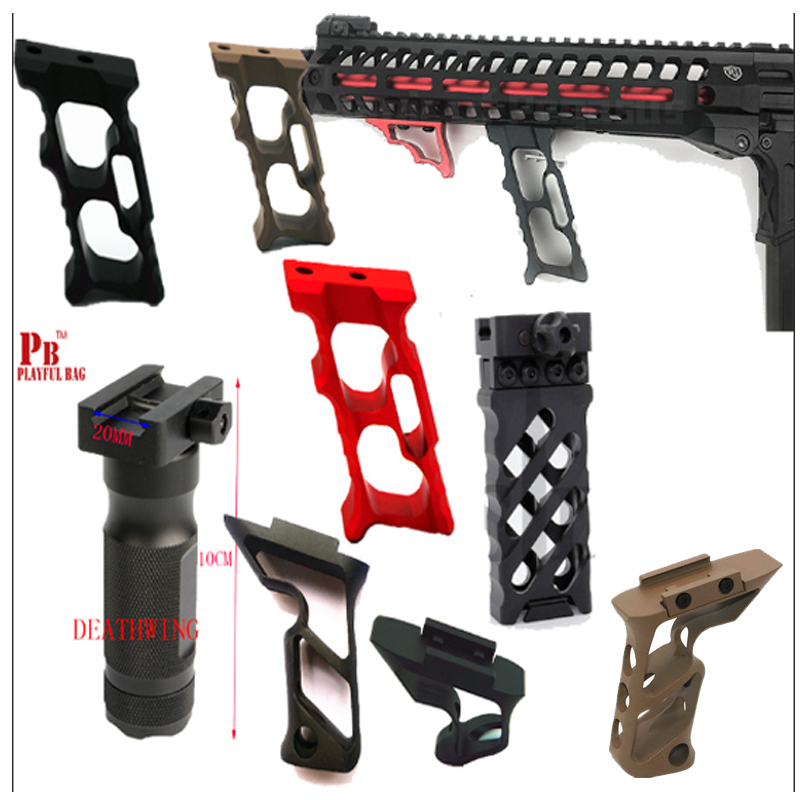 Outdoor game M4 VK KM hollow grip blaster gel gun jinming8 gen9 MKM2 MK18 modified tactical victory grip accessory T18(China)