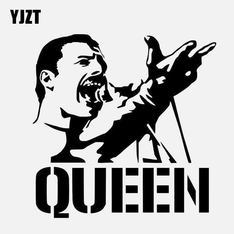 YJZT 15CM*15CM Vinyl Decal Car Sticker Queen American Singer
