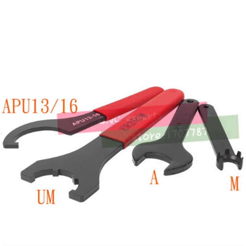 ER wrench ER8 ER11 ER16 ER20 ER25 C32UM nc tool shank nut drill chuck strong APU wrench Hardened image