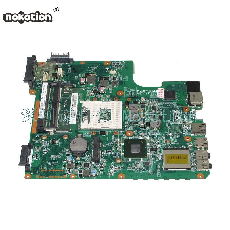 NOKOTION orignal A000093070 DA0TE5MB6F0 Main Board For toshiba satellite L745 laptop motherboard 31TE5MB00G0 HM65 DDR3 works nokotion sps v000198120 for toshiba satellite a500 a505 motherboard intel gm45 ddr2 6050a2323101 mb a01