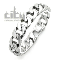 Hot Sale Occident Fashion Jewelry Stainless Steel Personality Rock Style Cool Men Bracelet Simple Male Bangles