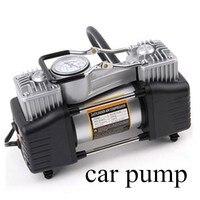 air pump 12V 150PSI car pump Vehicle mounted pump Tire inflation Double cylinder pump