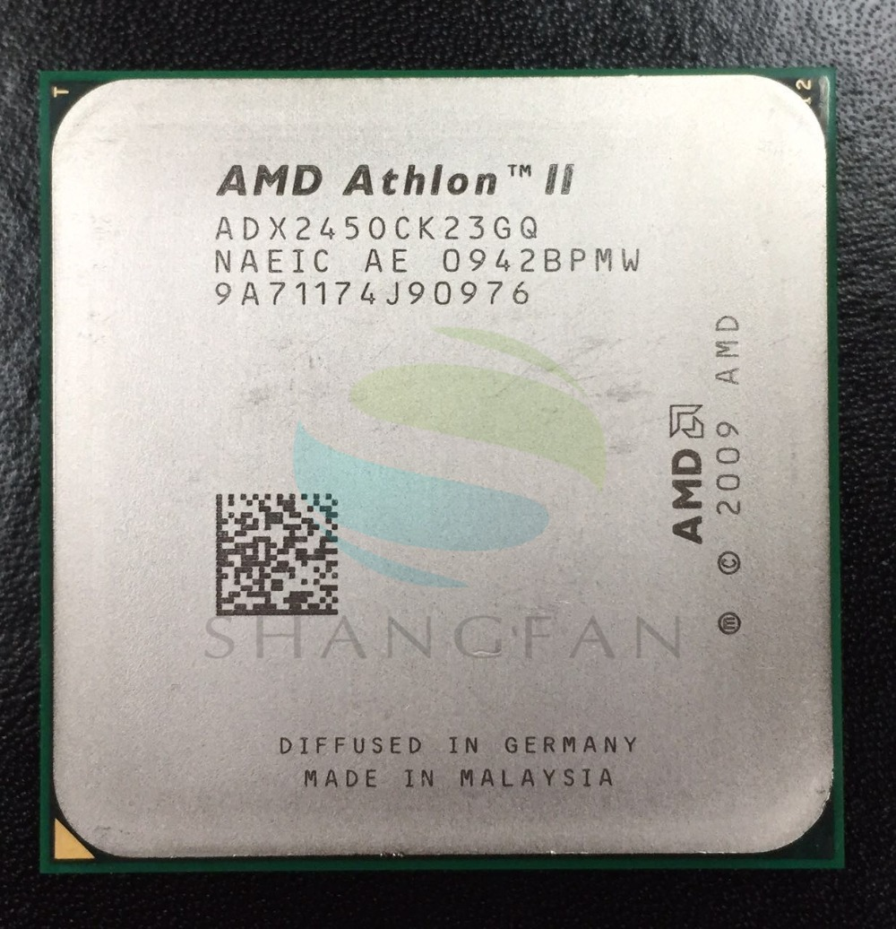 AMD Athlon X2 245 2.9 GHz Dual-Core CPU Processeur ADX245OCK23GM ADX245OCK23GQ Socket AM3 938pin