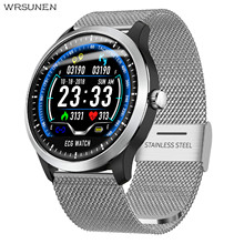 Fashion ECG PPG Smart Watch with  Electrocardiograph Display  Heart Rate Monitor Blood Pressure Men Women Waterproof Smartwatch