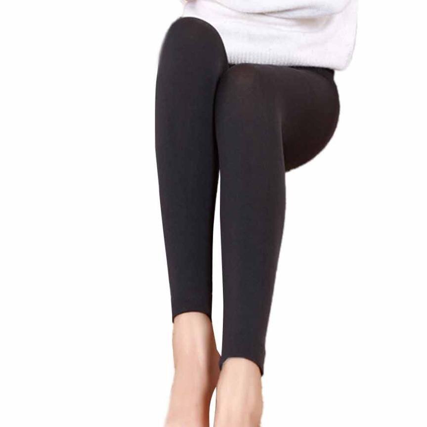 Leggings In Girl Pants Modern Women Plush Cashmere Straight Leggings Casual Thick Leggings Super Elastic Slim Legging TW