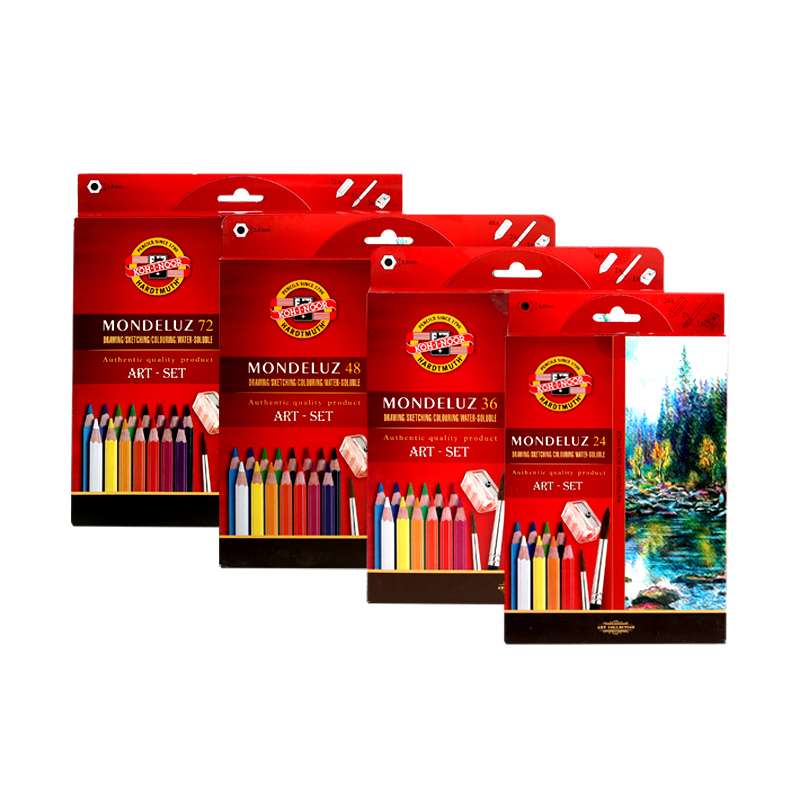 KOH-I-NOOR Mondeluz Landscape Aquarell Coloured Pencils Set of 24