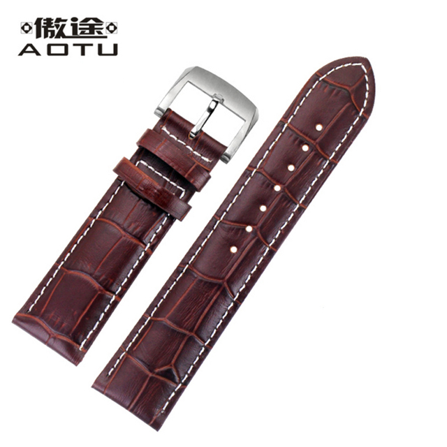 Aliexpress Com Buy 22mm Genuine Leather Watchbands For Tissot 1853